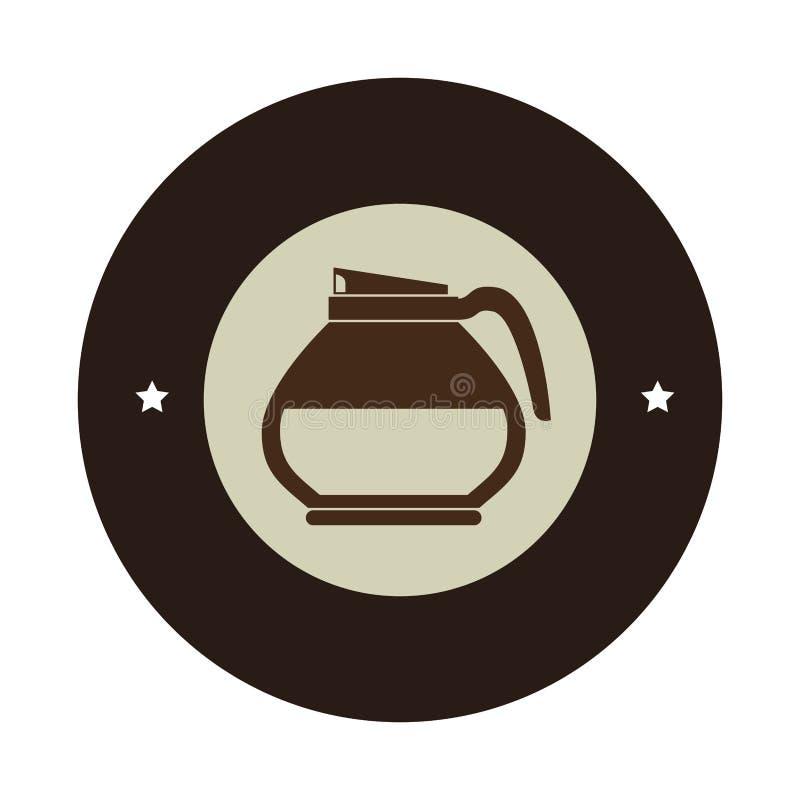 Download Icône D'isolement Par Boisson De Tasse De Café Illustration de Vecteur - Illustration du objet, symbole: 87703832