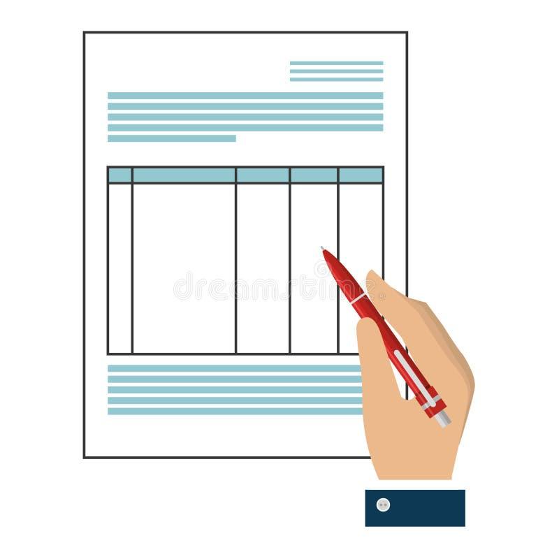 Download Icône D'isolement Par Fichier Document De Papier Illustration de Vecteur - Illustration du page, papier: 87704242