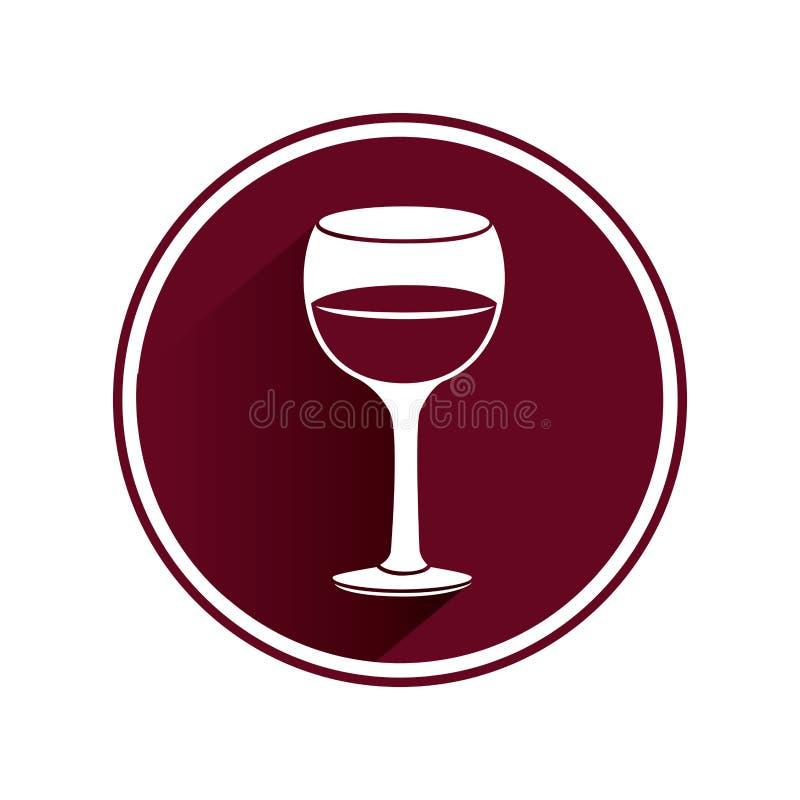 Download Icône D'isolement Par Tasse De Vin Illustration de Vecteur - Illustration du vecteur, cristal: 87703777