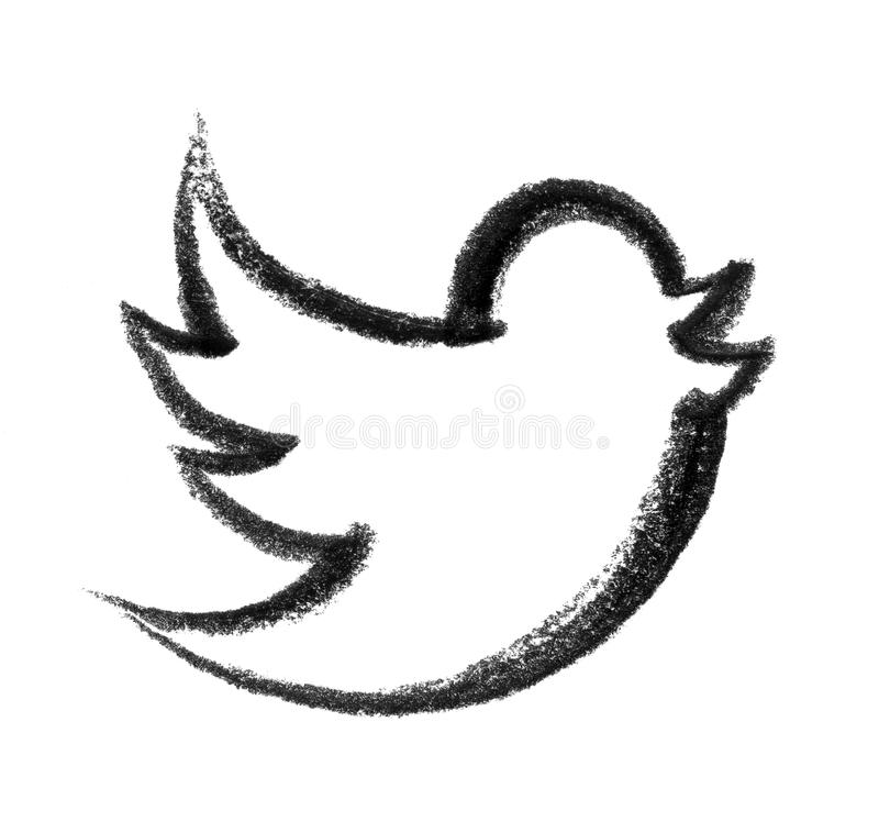 Icône d'oiseau illustration libre de droits