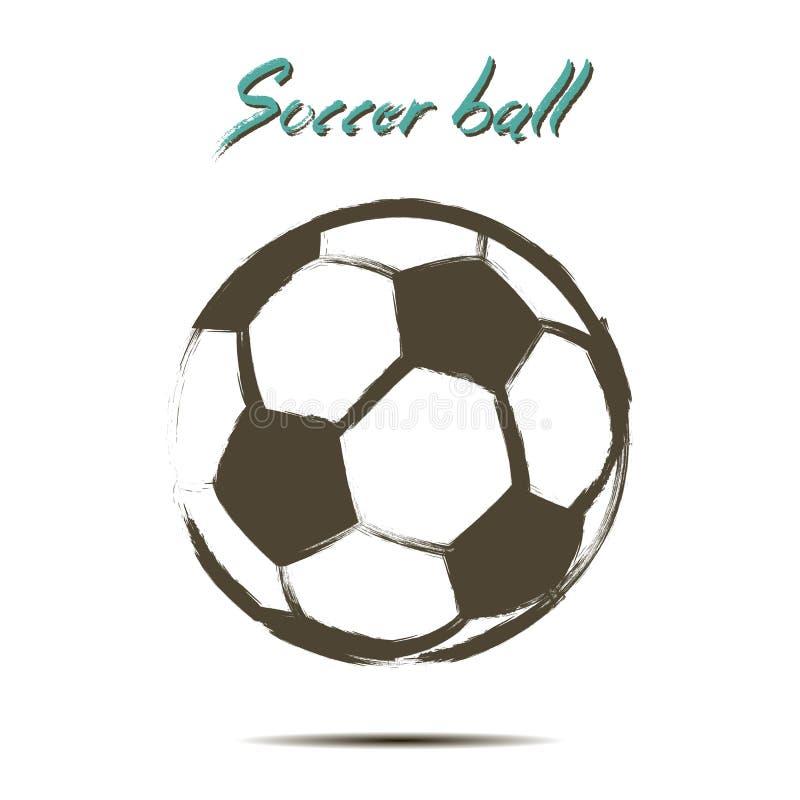 Icône de ballon de football illustration libre de droits