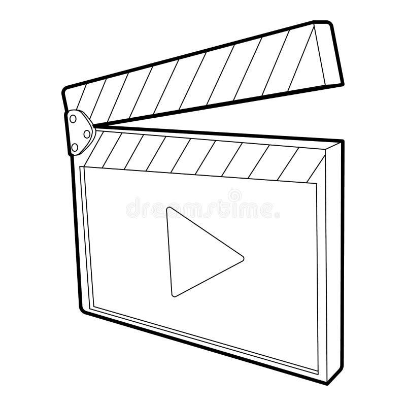 Icône de bardeau, style 3d isométrique illustration de vecteur