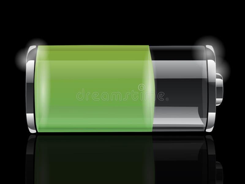 Icône de batterie illustration de vecteur