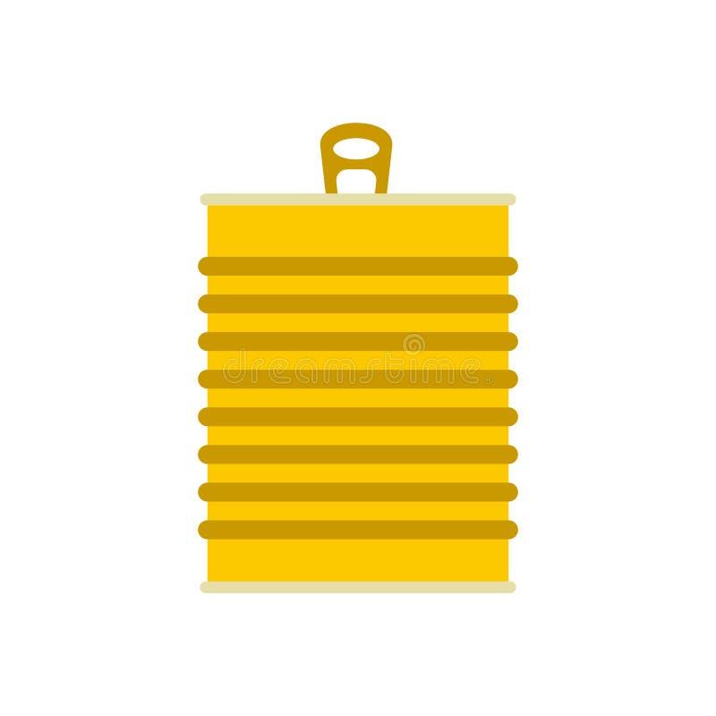 Icône de boîte en fer blanc illustration de vecteur