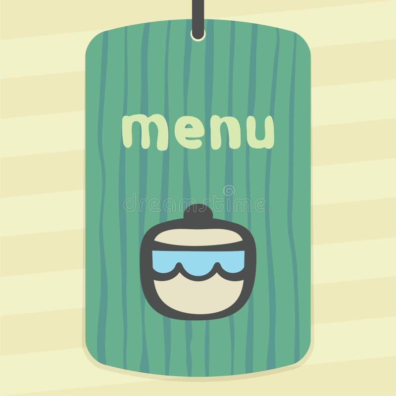 Icône de bol de sucre ou de confiture d'ensemble de vecteur Logo infographic moderne et pictogramme illustration libre de droits