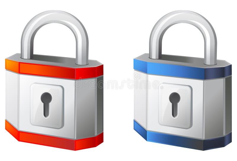 Icône de cadenas illustration libre de droits