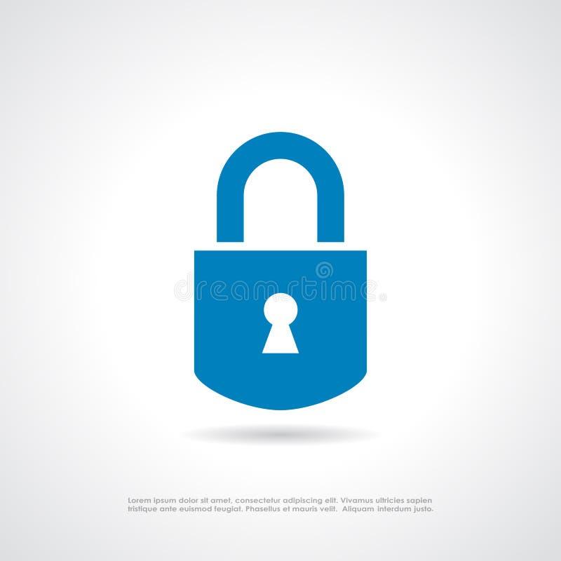 Icône de cadenas illustration de vecteur