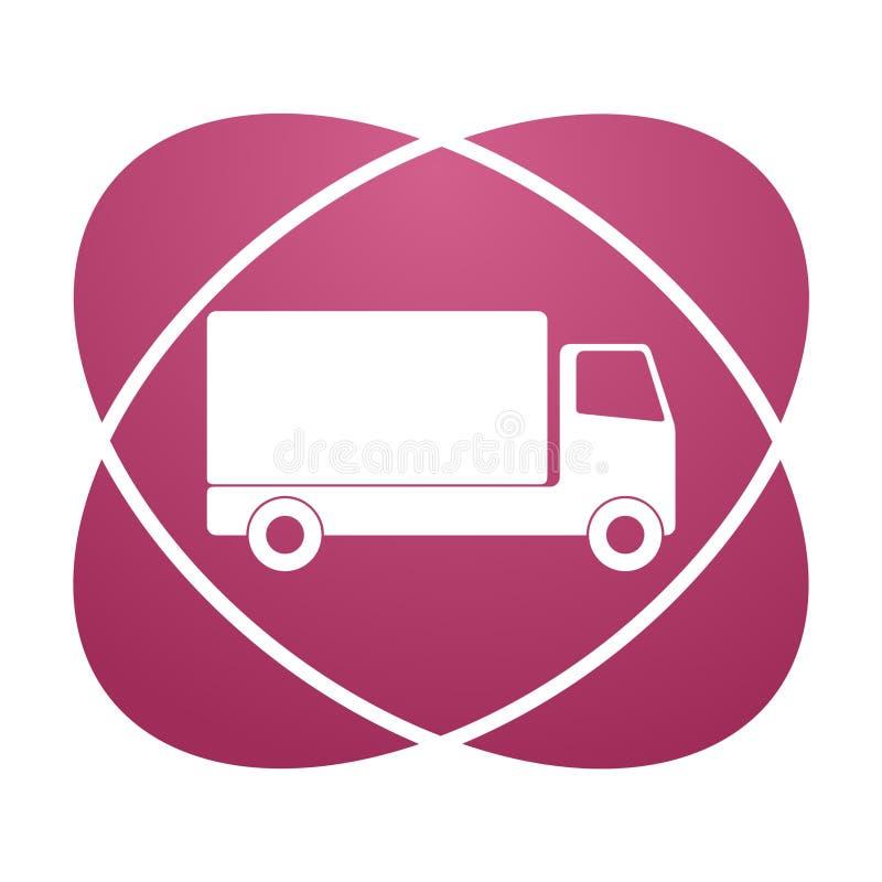 Icône de camion illustration stock