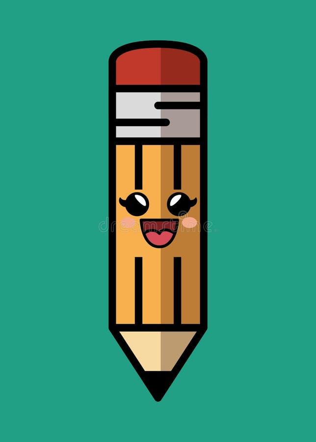 Download Icône De Caractère Comique De Crayon Illustration de Vecteur - Illustration du vecteur, carte: 87702588