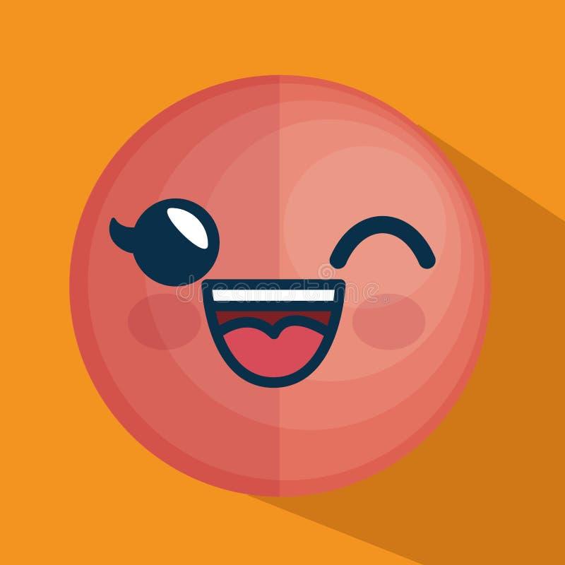 Download Icône De Caractère D'émoticône De Visage Illustration de Vecteur - Illustration du visage, smiley: 87702502
