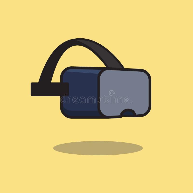 Icône de casque de réalité virtuelle photos libres de droits