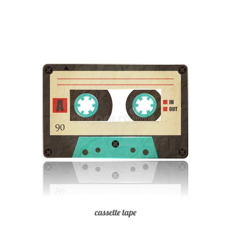 Icône de cassette illustration stock