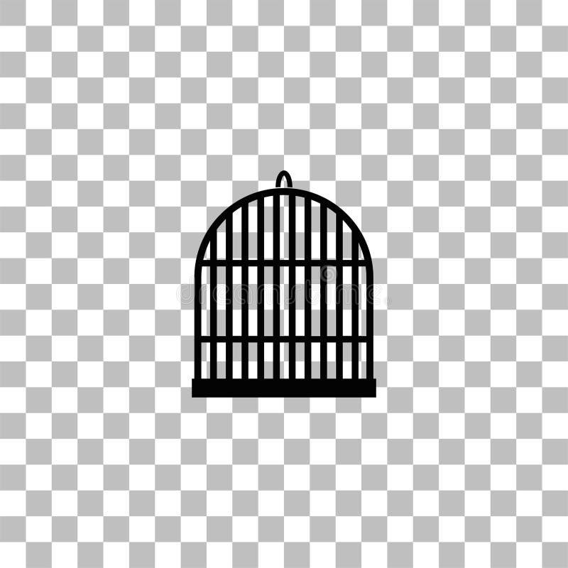 Ic?ne de cellules d'oiseau ? plat illustration libre de droits