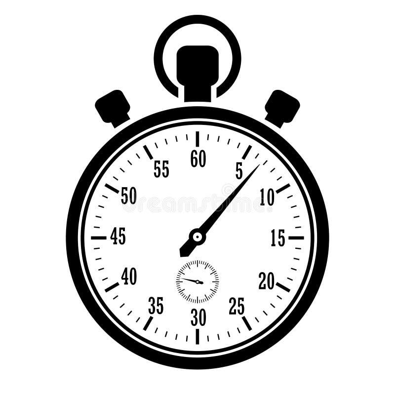 Icône de chronomètre illustration stock