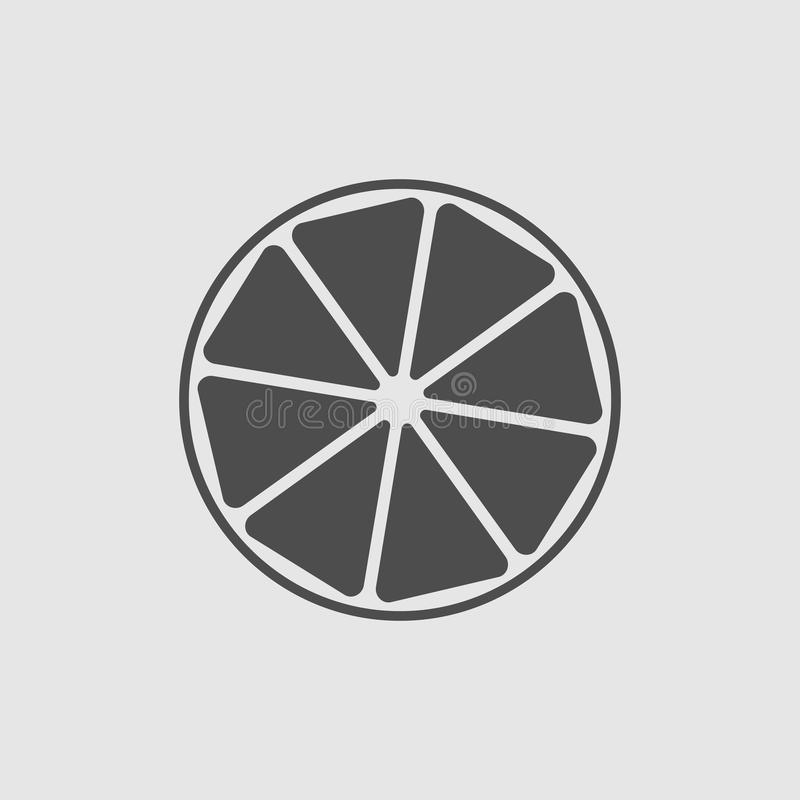 Icône de citron illustration libre de droits