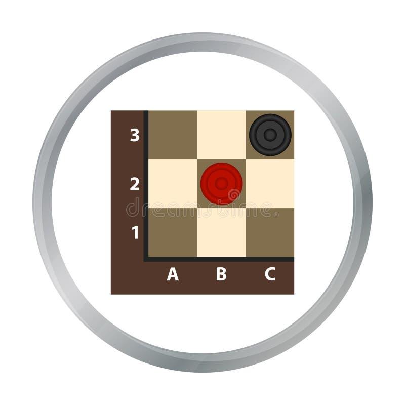 Icône de contrôleurs dans le modèle illustration libre de droits
