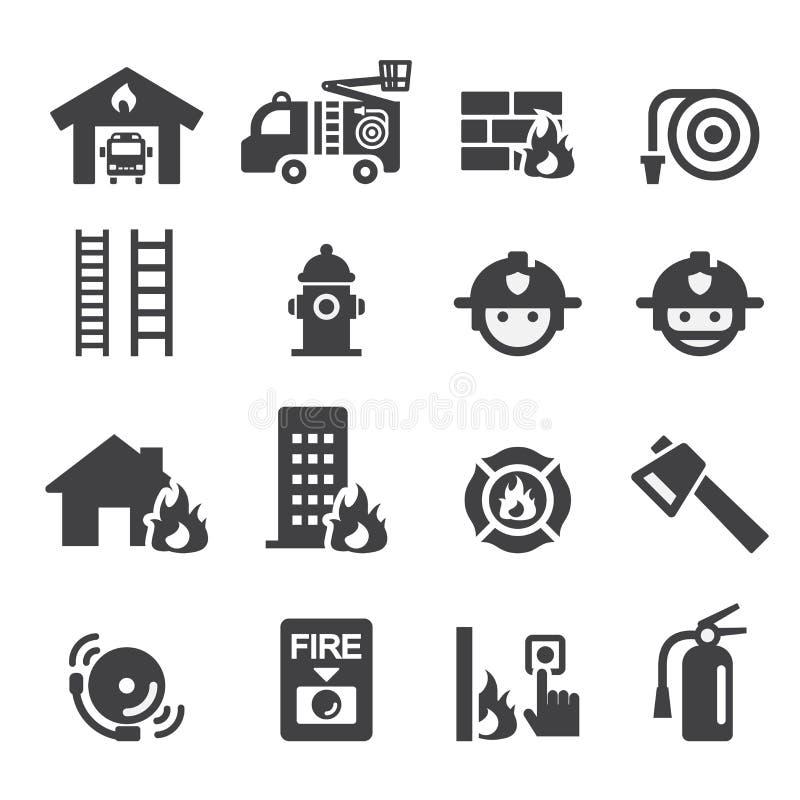 Icône de corps de sapeurs-pompiers illustration libre de droits