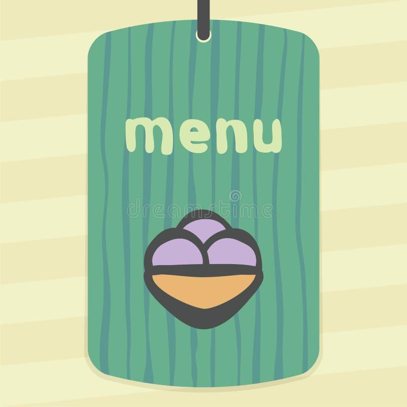 Icône de crème glacée de fruit d'ensemble de vecteur Logo infographic moderne et pictogramme illustration de vecteur