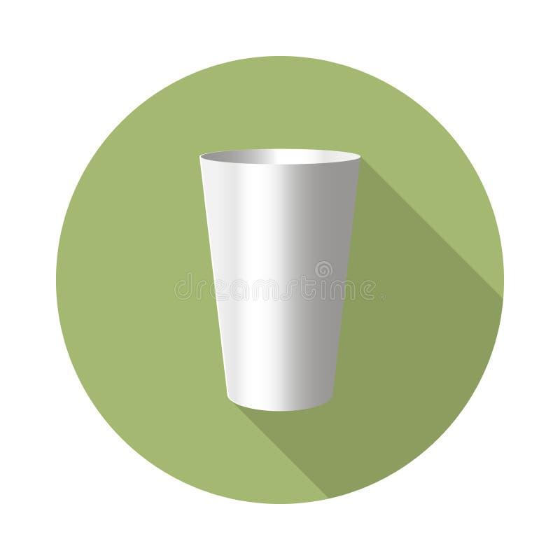 Icône de culbuteur d'acier inoxydable illustration stock