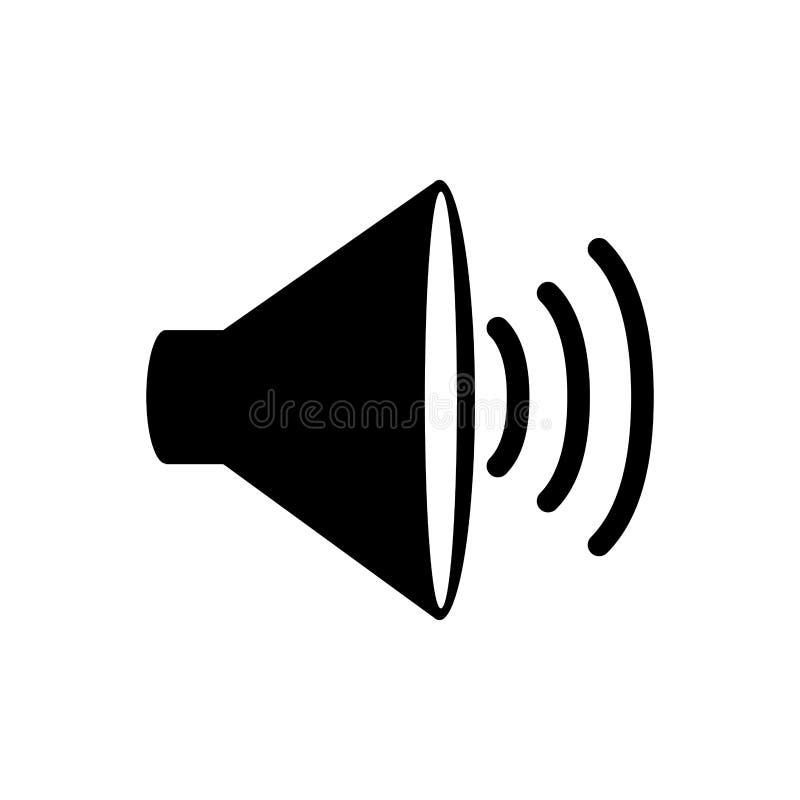 Icône de dispositif de haut-parleur illustration libre de droits