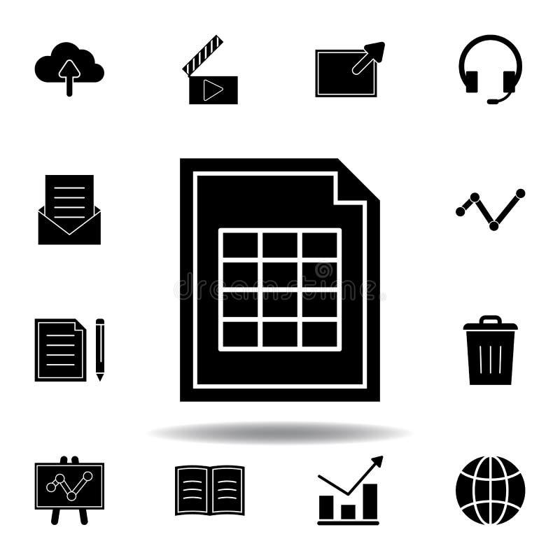 Ic?ne de fl?che de nuage de dossier Des signes et les symboles peuvent ?tre employ?s pour le Web, logo, l'appli mobile, UI, UX illustration de vecteur