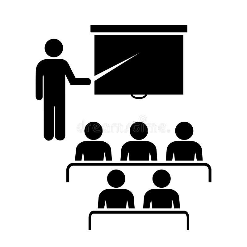 Icône de formation illustration libre de droits