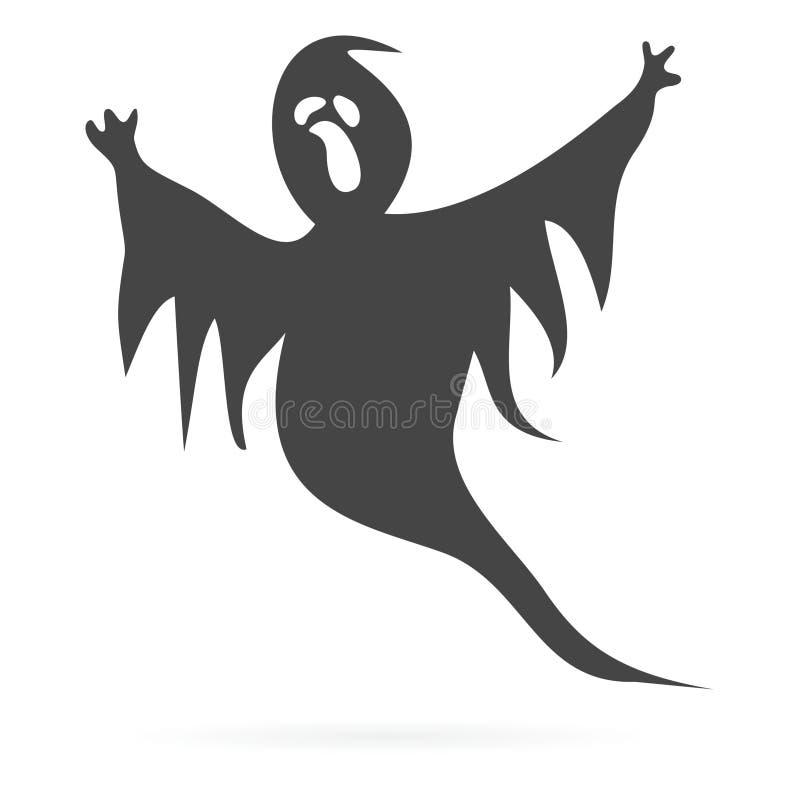 Icône de Ghost illustration stock