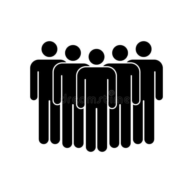 Ic?ne de groupe de peuples Illustration de vecteur illustration stock