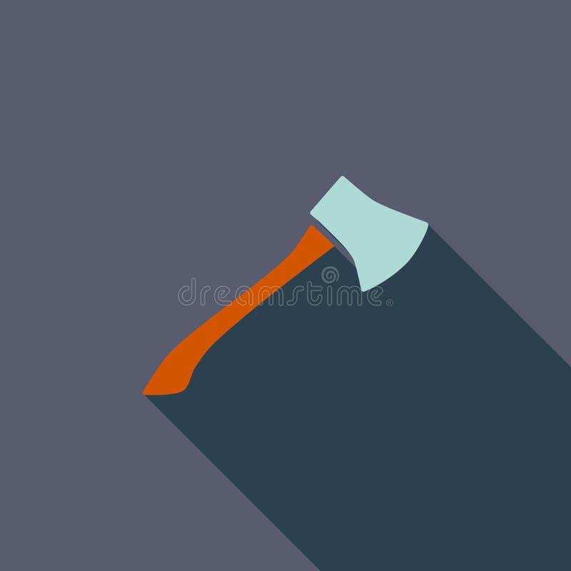 Icône de hache illustration libre de droits