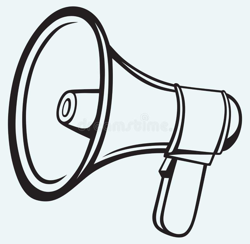 Icône de haut-parleur illustration libre de droits