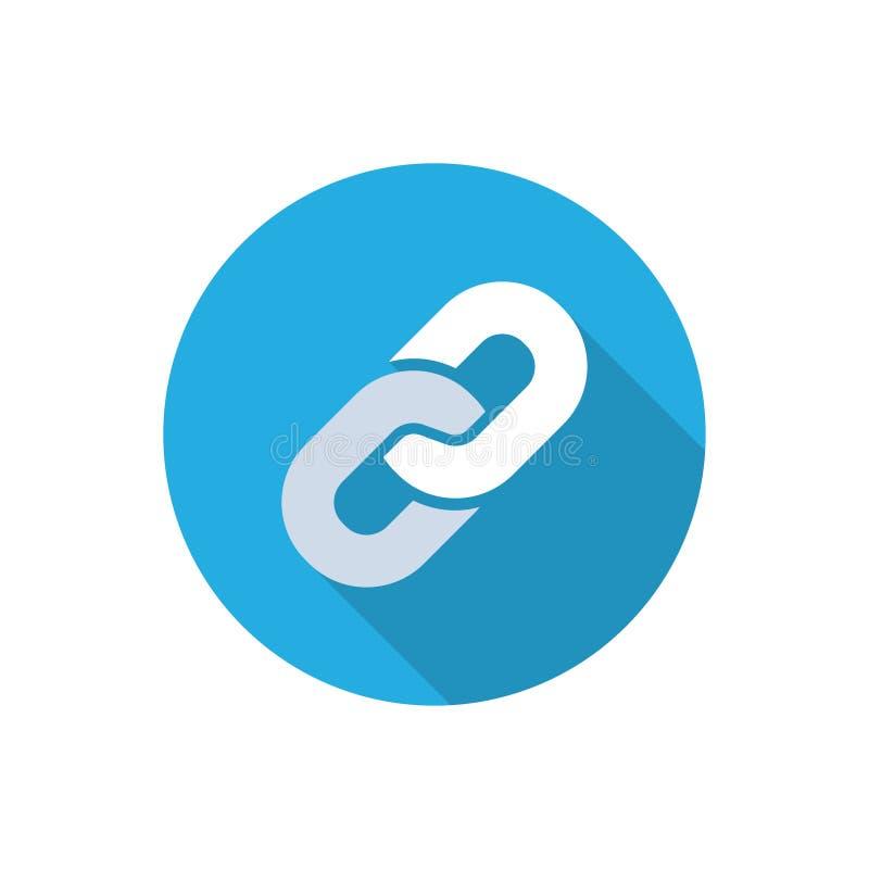 Icône de lien illustration de vecteur