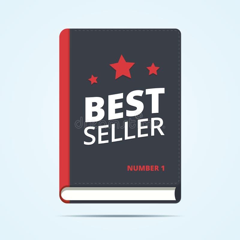 Icône de livre de best-seller illustration libre de droits