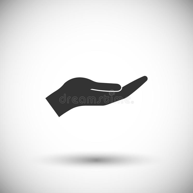 Icône de main illustration libre de droits