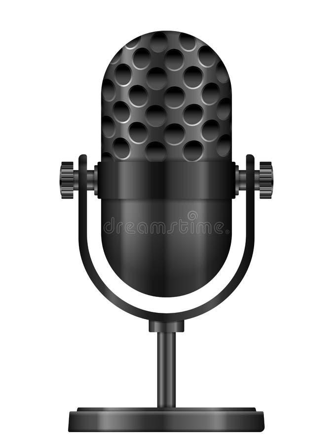 Icône de microphone illustration libre de droits