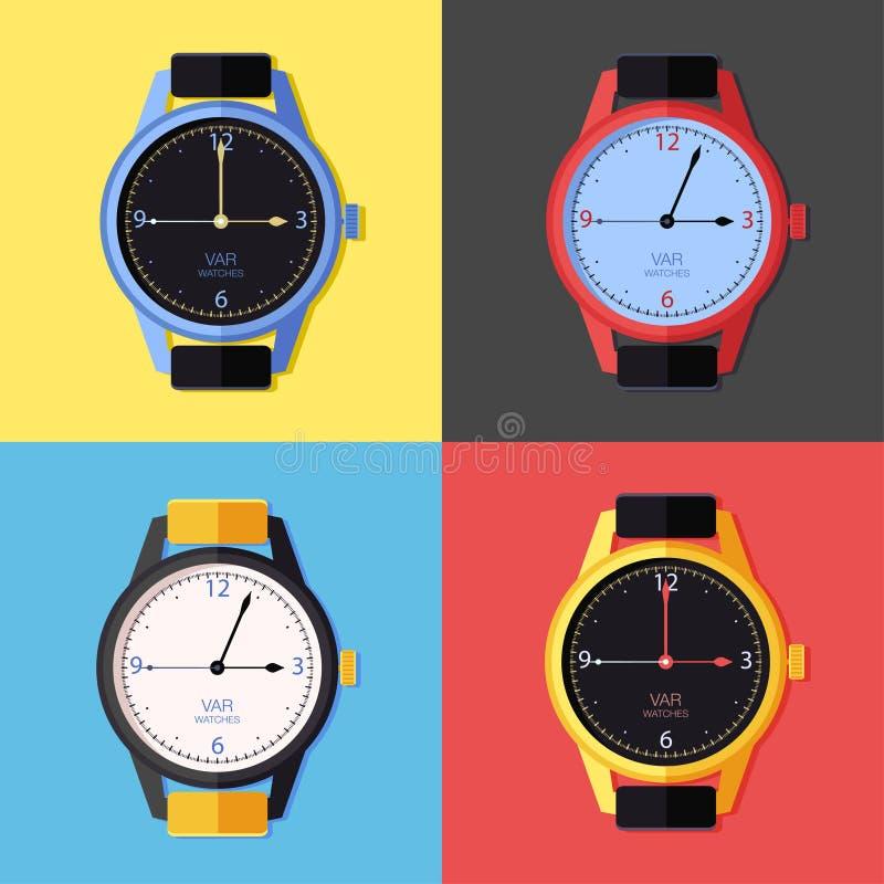 Icône de montre image stock