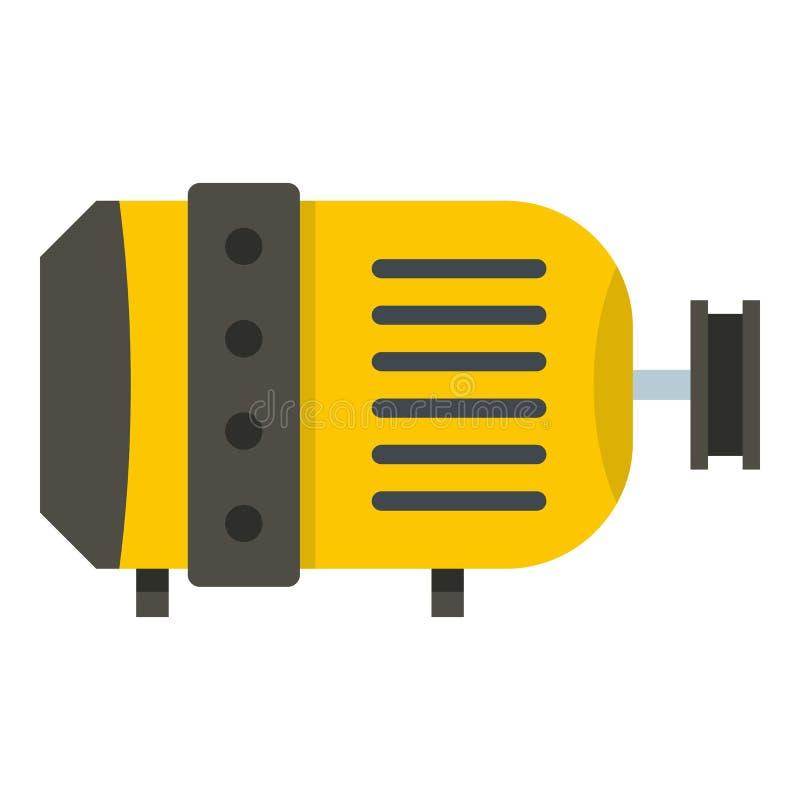 Icône de moteur électrique d'isolement illustration de vecteur