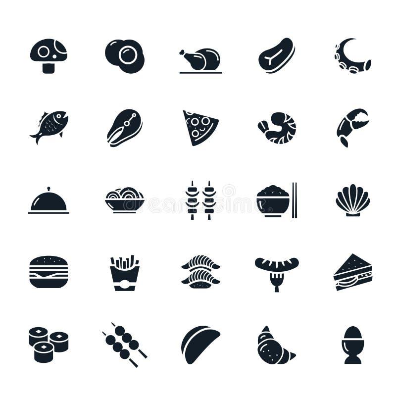 Icône de nourriture illustration libre de droits