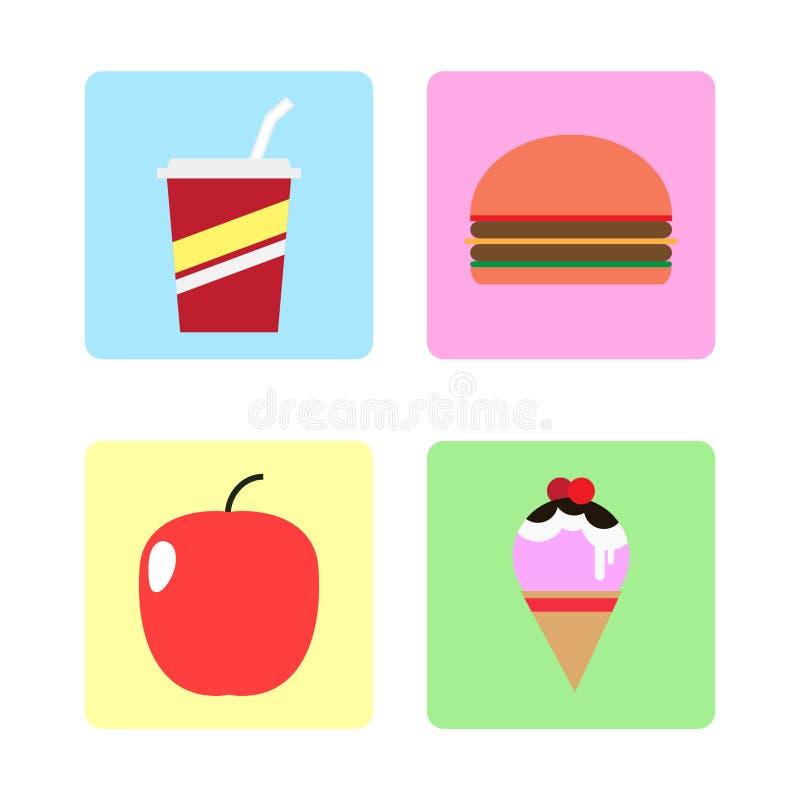 Icône de nourriture photo libre de droits