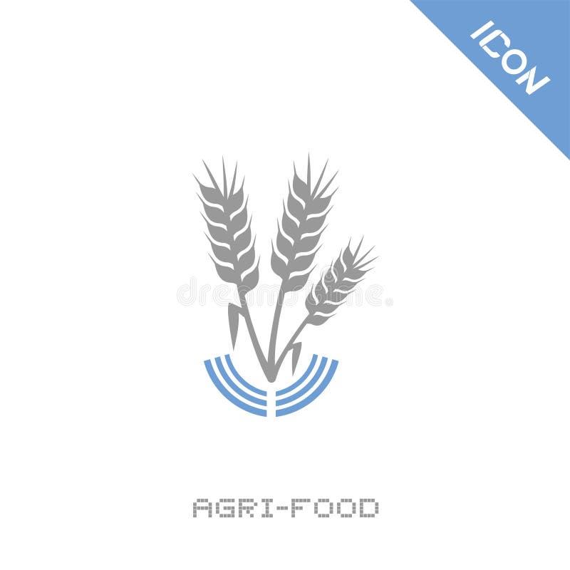 Icône de nourriture d'Agri illustration libre de droits