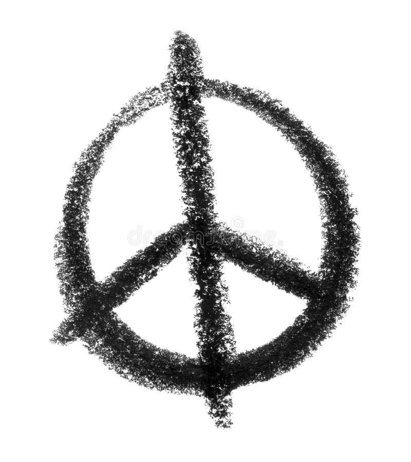 Icône de paix illustration libre de droits