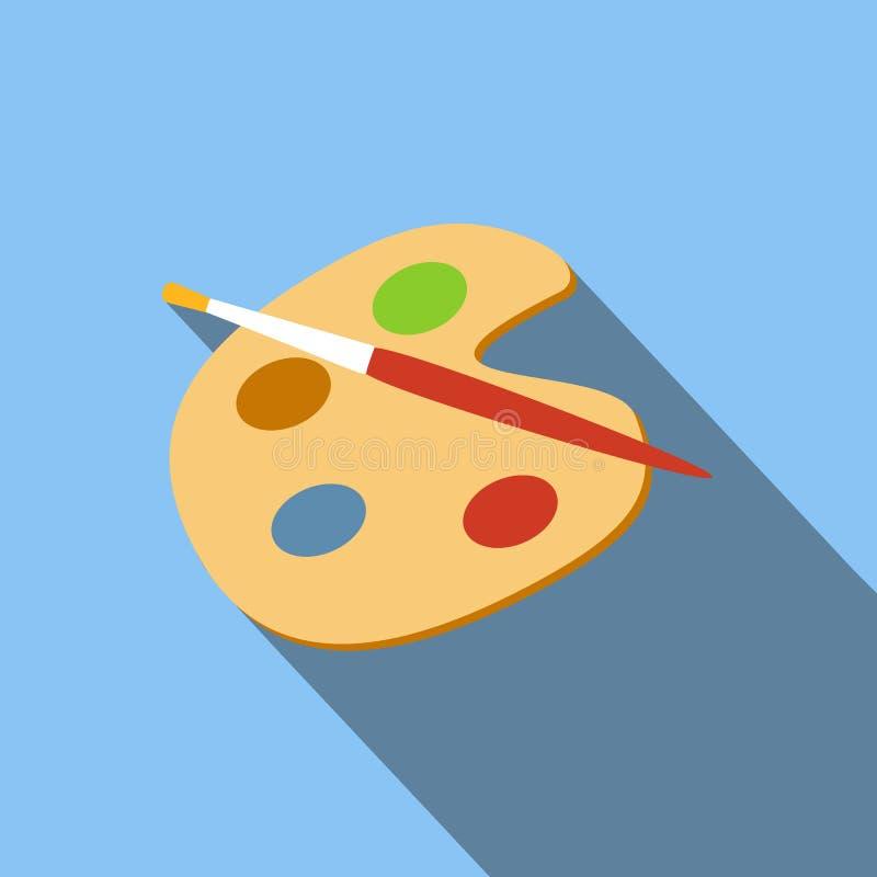 Icône de palette d'art illustration de vecteur