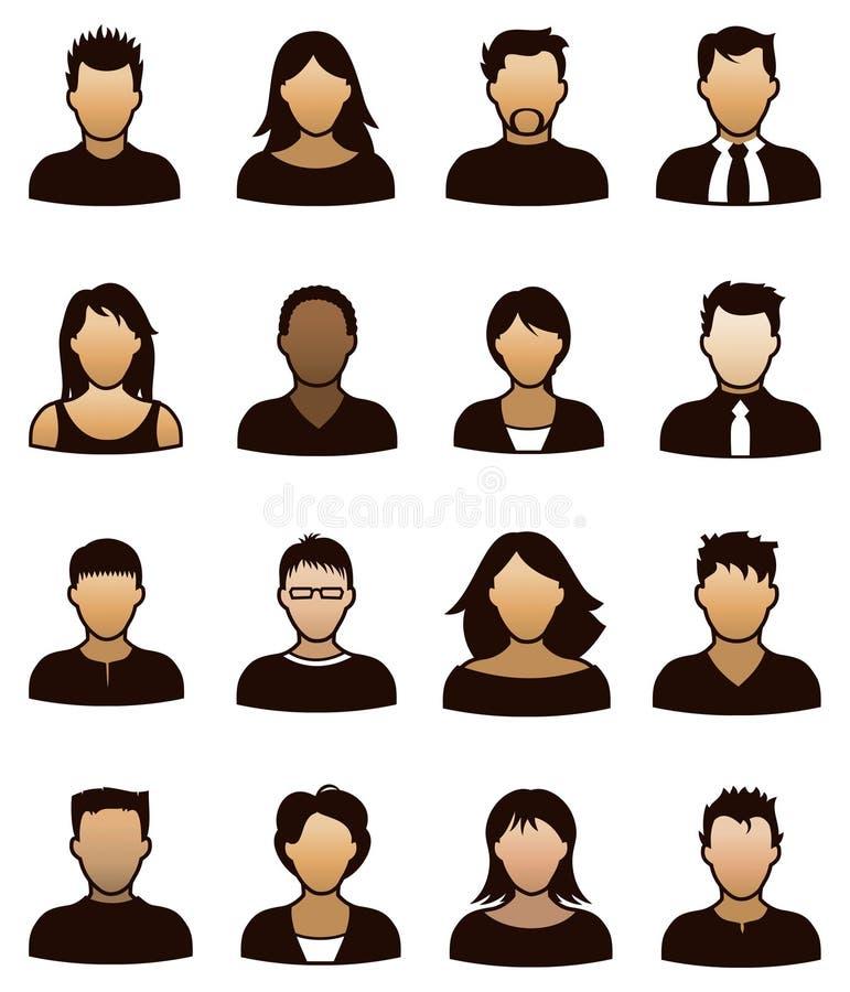 Icône de personnes illustration libre de droits