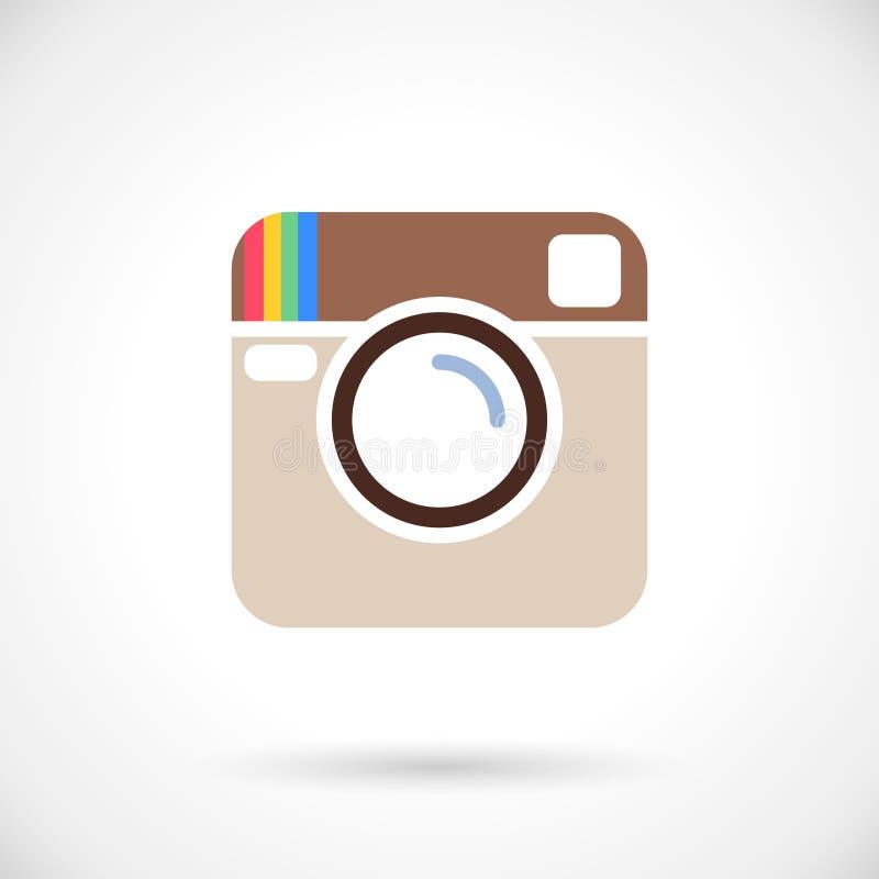 Icône de photo illustration libre de droits