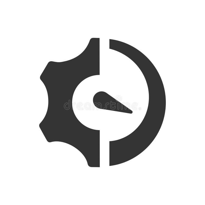 Icône de processus d'affaires illustration de vecteur
