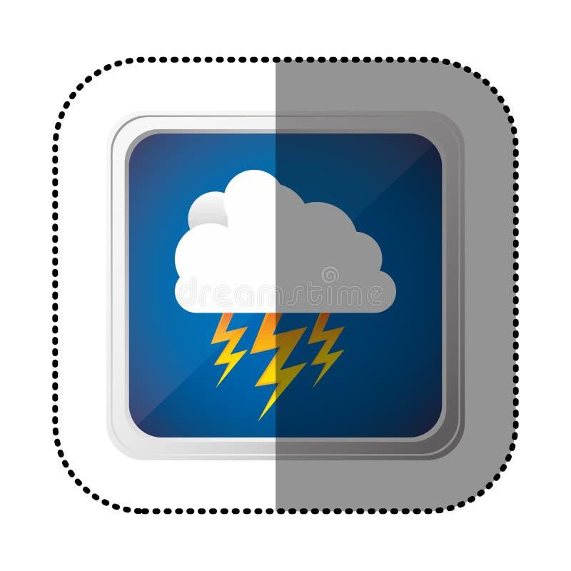 Download Icône De Rayon De Nuage De Symbole Illustration Stock - Illustration du lumière, positionnement: 87708903