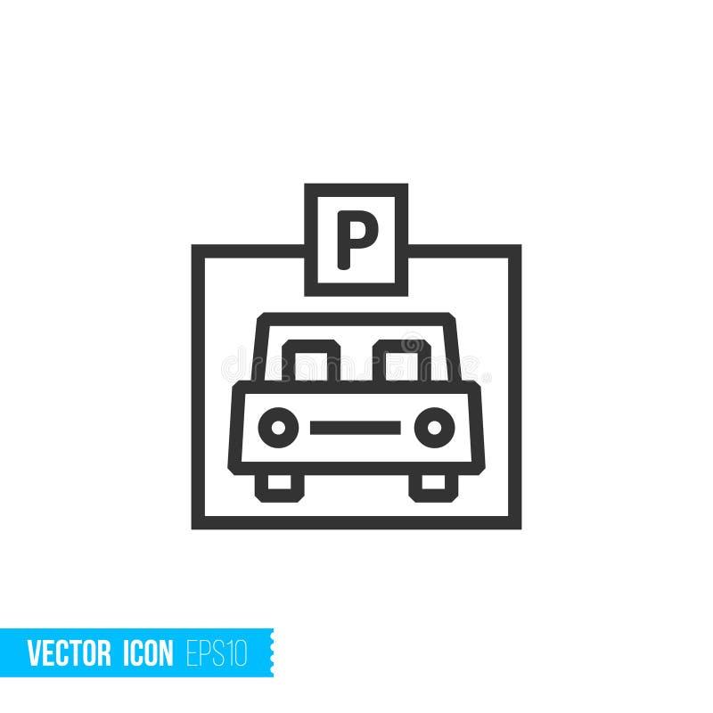 Icône de Real Estate illustration de vecteur