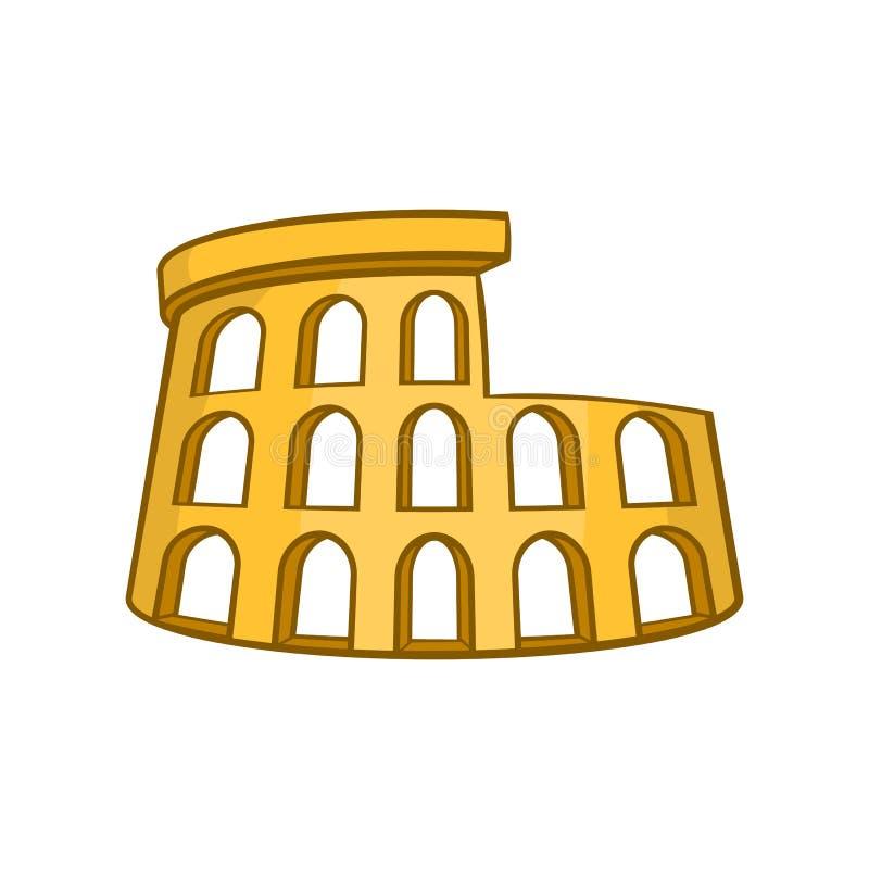 Icône De Roman Coliseum, Style De Bande Dessinée Illustration de ...
