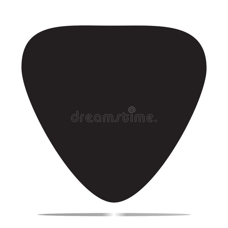 Icône de sélection de guitare illustration stock
