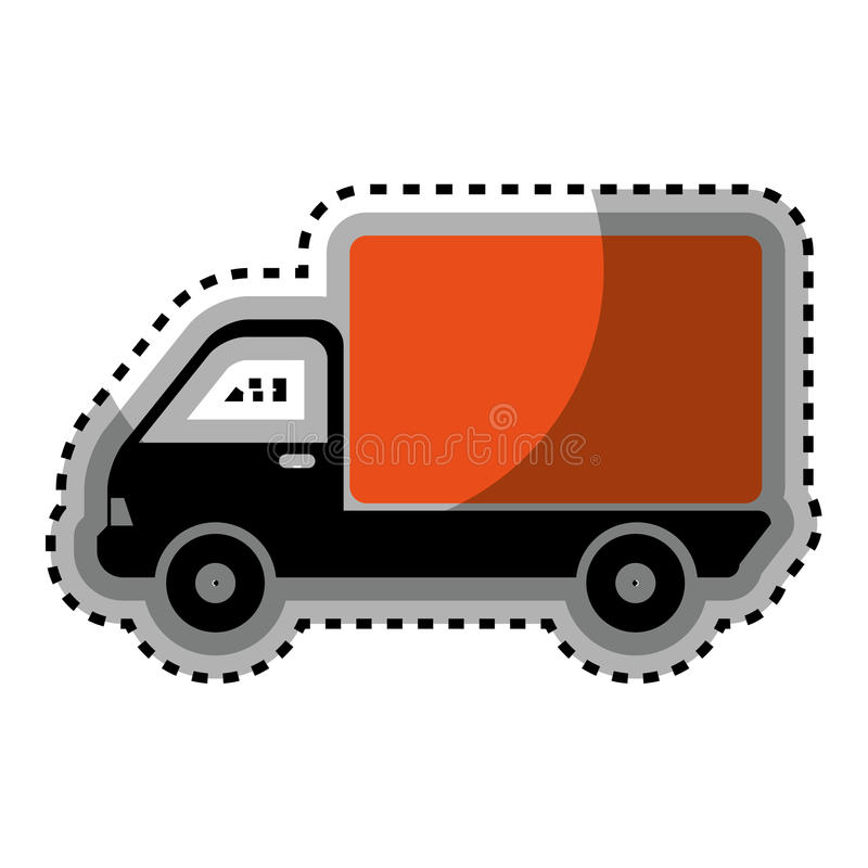 Download Icône De Service De Distribution De Camion Illustration de Vecteur - Illustration du expédition, delivery: 87703320