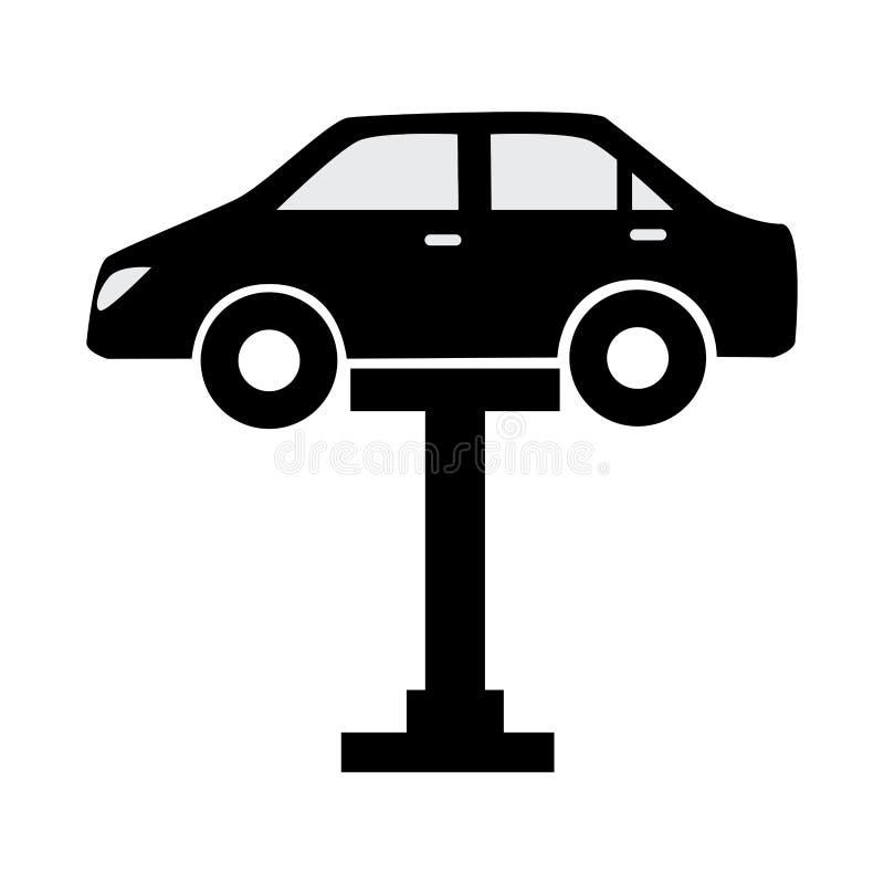Icône de service des réparations de voiture illustration libre de droits